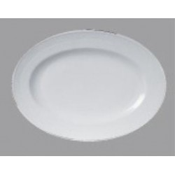 OVAL PLATE 36.0CM
