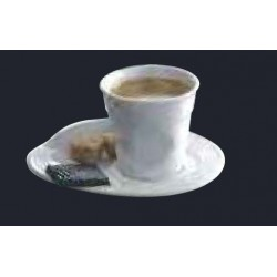 Froisse Expresso saucer . sa