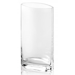 Puri vase Oval H 25cm clear