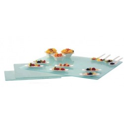Rect., glass tray 32x25