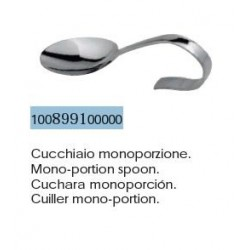 Mono-portion spoon
