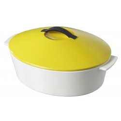 oval cocotte seychelles yellow