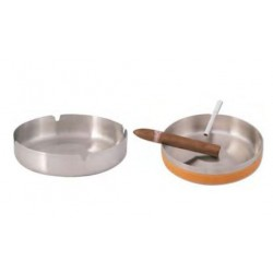 round ashtray embossed middl
