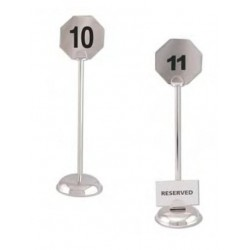 octagonal Table number stand