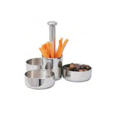 Appitzer stand 4 bowls side