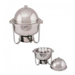 ROUND CHAFING DISH DOME COVE
