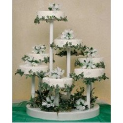 8 Level Wedding Cace Stand