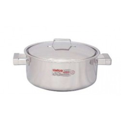 Stew pan with lid SS 28x13.5