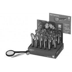 Display with 20 tweezers wit
