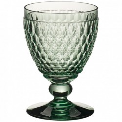 Boston coloured Water goblet green 144mm