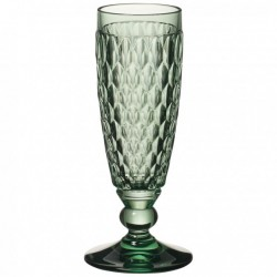 Boston coloured Champagne flute green 163mm