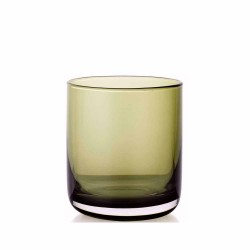 Wine Glass cl.20-cased moss green