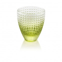 Water tumbler cl.33  Green decoration